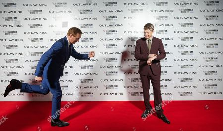 Tony Curran and Billy Howle