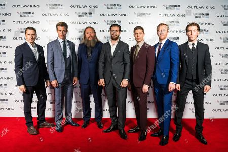 Alastair MacKenzie, Chris Pine, David Mackenzie, Aaron Taylor-Johnson, Billy Cowie, Tony Curran and Chris Fulton