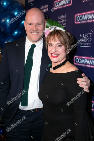 Christopher Harper (Producer) and Patti Lupone (Joanne)