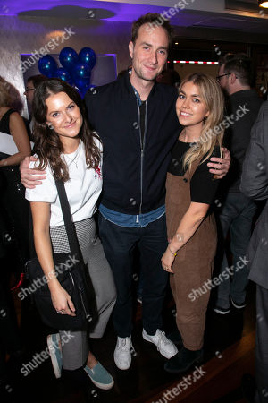 Francesca Knight, Oliver Chris and Tilly Standing