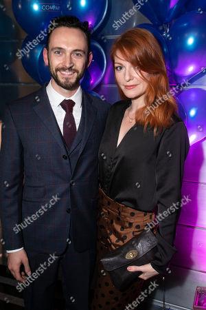 George Blagden (PJ) and Laura Pitt-Pulford