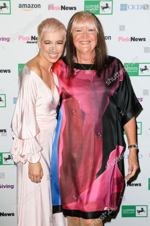 Editorial picture of Pink News Awards, Church House, London - 17 Oct 2018
