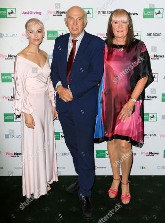 SuRie, Sandie Shaw and Sir Vince Cable