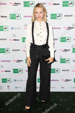 Editorial image of Pink News Awards, Church House, London - 17 Oct 2018