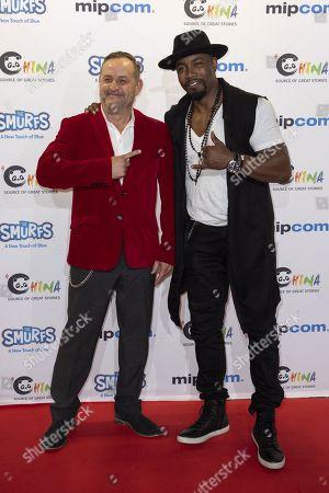 Michael Bender, Michael Jai White (actor, presenter) for 'Last Fighter Standing'