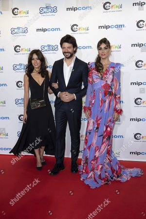 Veronica Sanchez, Alvaro Morte, Irene Atcos for the film 'The Pier'