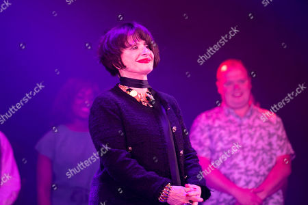 Patti LuPone (Joanne) during the curtain call