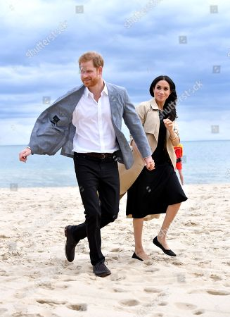 Prince Harry and Meghan Duchess of Sussex tour of Australia, Day 3