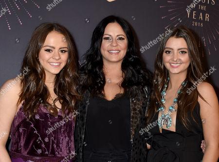 Daughter Audrey Elizabeth Schelske, Sara Evans and daughter Olivia Margaret Schelske