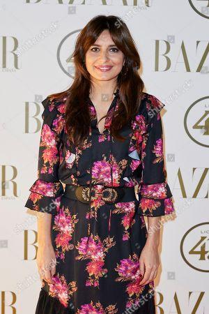 Editorial image of II Harper's Bazaar Actitud 43 awards, Madrid, Spain - 17 Oct 2018
