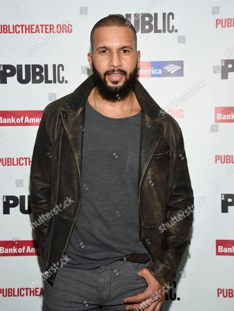 """Sydney James Harcourt attends the opening night celebration of """"Mother of the Maid"""" at The Public Theater, in New York"""