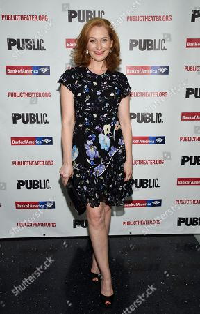 """Kate Jennings Grant attends the opening night celebration of """"Mother of the Maid"""" at The Public Theater, in New York"""