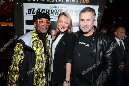 Stock Image of Director Spike Lee, Alexandra Hankel and Anthony LaPaglia