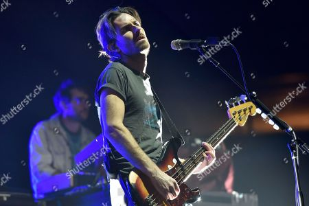 Marc Walloch of AWOLNATION performs an opening act during 'The Bandito Tour' at the United Center, in Chicago