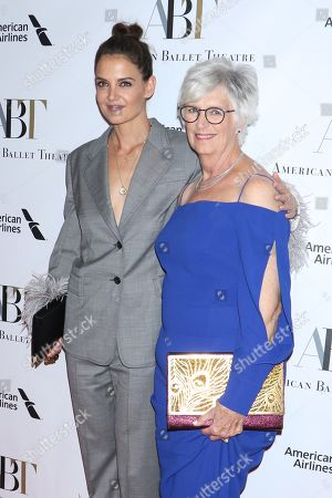 Katie Holmes and Kathleen Holmes