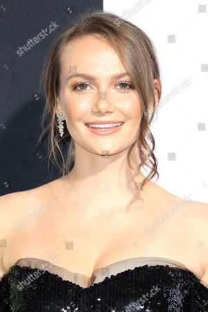 United States actress and cast member Andi Matichak arrives at the premiere of Halloween at the TCL Chinese Theatre IMAX in Los Angeles, California, USA, 17 October 2018. The film opens in the US 19 October 2018.
