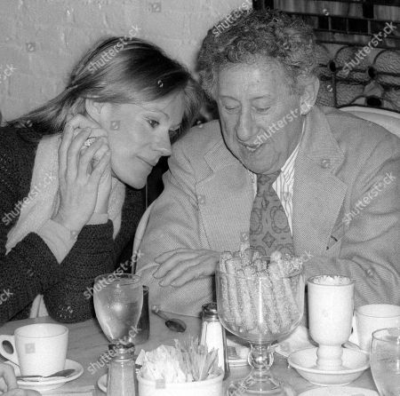 Tammy Grimes and Jack Gilford