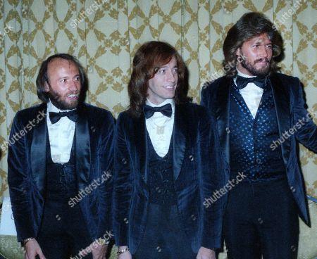 Maurice Gibb , Robin Gibb and Barry Gibb