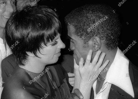 Liza Minnelli and Sammy Davis Jr.