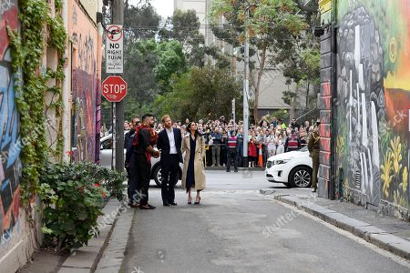 Editorial photo of The Duke and Duchess of Sussex tour Australia, Melbourne - 18 Oct 2018