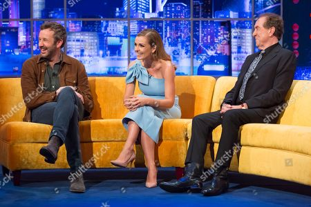 Chris O'Dowd, Katherine Jenkins, Eric Idle