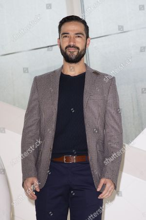 "Stock Picture of Alfonso Herrera (actor) for ""Talent Presented by FOX"""
