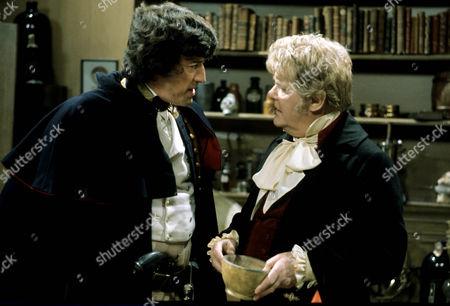 'Dominic'     TV Series 2 of 'Boy Dominic' Picture shows - John Hallam as Captain Beever and Thorley Walters as Lord Stainton