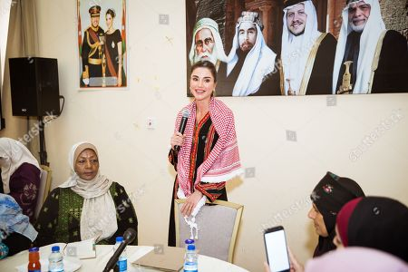 Queen Rania visits a Family Empowerment Project, Tafileh