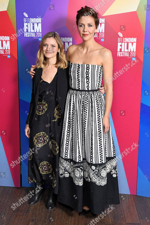Stock Image of Sara Colangelo and Maggie Gyllenhaal