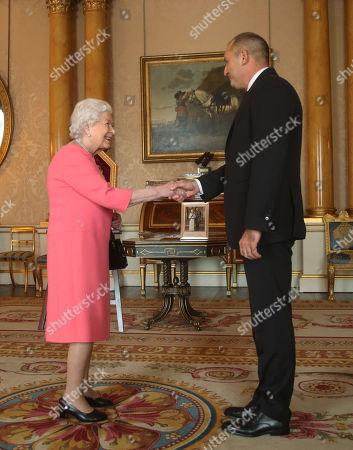 Audience at Buckingham Palace, London