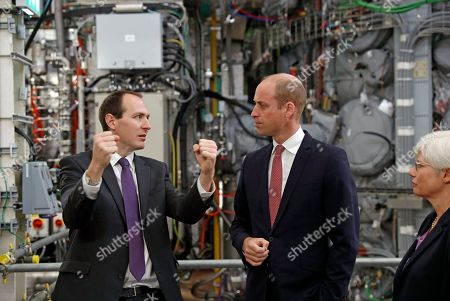Prince William visit to the UK Atomic Energy Authority