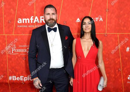 Editorial image of amfAR gala, Arrivals, Los Angeles, USA - 18 Oct 2018