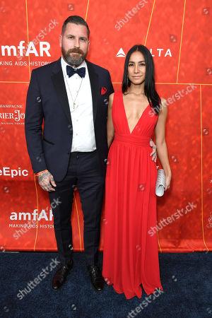 Editorial photo of amfAR gala, Arrivals, Los Angeles, USA - 18 Oct 2018