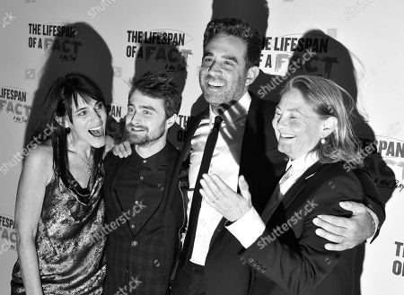 Leigh Silverman, Daniel Radcliffe, Bobby Cannavale, and Cherry Jones