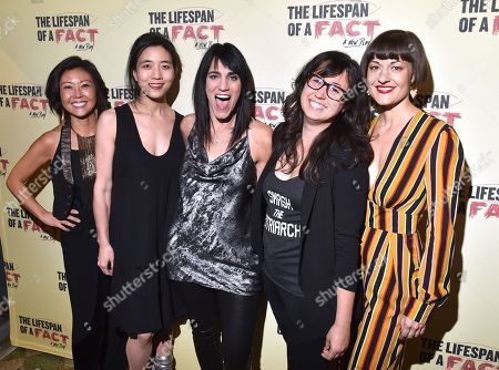 Stock Picture of Linda Cho, Mimi Lien, Leigh Silverman, Jennifer Schriever, Palmer Hefferan