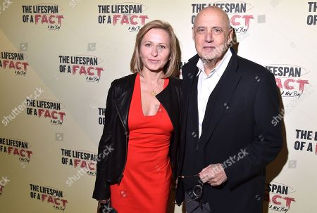Editorial photo of 'Lifespan of a Fact' Broadway play opening night, Arrivals, New York, USA - 18 Oct 2018