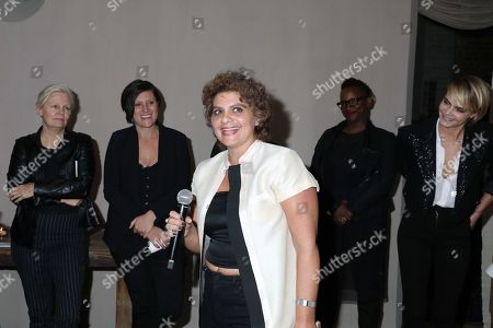 Mary Harron, Rachel Morrison, Suja Araj, Effie T. Brown and Cara Delevingne