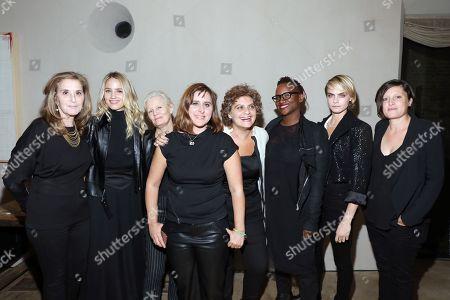 Paula Weinstein, Dianna Agron, Mary Harron, Maryam Keshazar, Suha Araj, Effie T. Brown, Cara Delevingne and Rachel Morrison