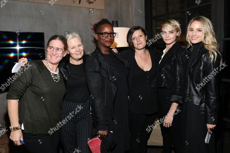 Mary Harron, Effie T. Brown, Amy Hobby, Cara Delevingne, Dianna Agron and guest