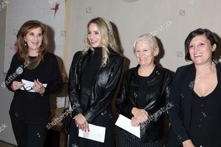 Paula Weinstein, Dianna Agron, Mary Harron and Rachel Morrison