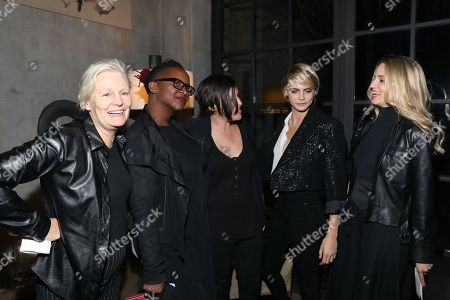 Mary Harron, Effie T. Brown, Amy Hobby, Cara Delevingne and Dianna Agron