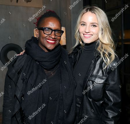 Effie T. Brown and Dianna Agron