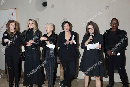 Paula Weinstein, Dianna Agron, Mary Harron, Rachel Morrison, Amy Hobby and Effie T. Brown
