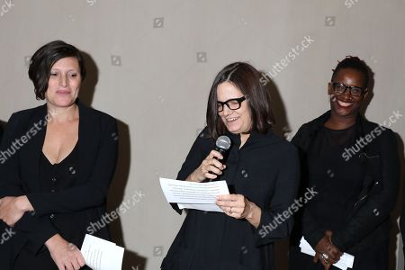 Stock Picture of Rachel Morrison, Amy Hobby and Effie T. Brown