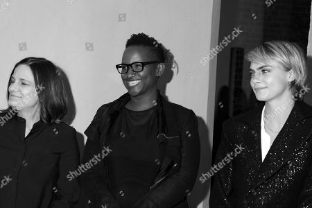 Amy Hobby, Effie T. Brown and Cara Delevingne