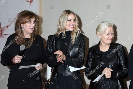 Paula Weinstein, Dianna Agron and Mary Harron