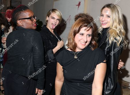 Effie T. Brown, Cara Delevingne, Maryam Keshazar and Dianna Agron