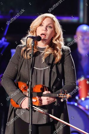 Alison Krauss performs at the 2018 CMT Artists of the Year show at the Schermerhorn Symphony Center, in Nashville, Tenn