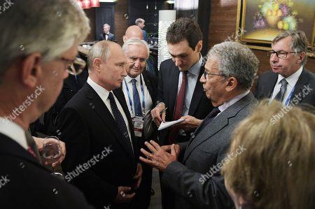 Editorial photo of Valdai International Discussion Club in Sochi, Russian Federation - 18 Oct 2018