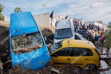 Flash floods hit Tunisia